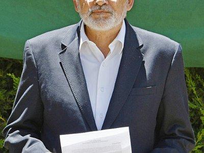 Le candidat de l'opposition Carlos Mesa en conférence de presse à La Paz, le 24 octobre 2019    AIZAR RALDES [AFP]