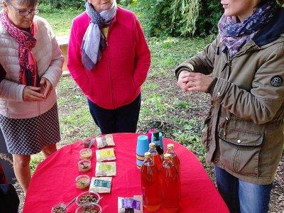 Vente et dégustation des produits torréfiés.    Christian Pedron