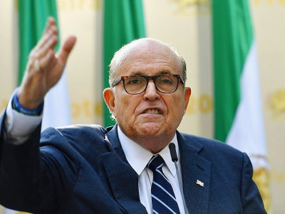 L'avocat personnel de Donald Trump, Rudy Giuliani, à New York le 24 septembre 2019
