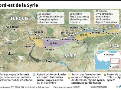 Nord-est de la Syrie     [AFP]