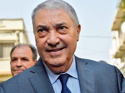 L'ex-Premier ministre algérien Ali Benflis à Alger, le 20 février 2019    RYAD KRAMDI [AFP/Archives]