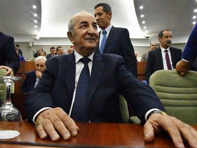 Abdelmadjid Tebboune, Premier ministre algérien le 20 juin 2017 à Alger    RYAD KRAMDI [RYAD KRAMDI/AFP/Archives]