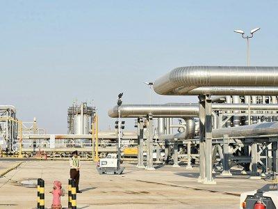 Vue d'une installation pétrolière du géant saoudien Aramco, à Abqaiq, en Arabie saoudite, le 20 septembre 2019    Fayez Nureldine [AFP/Archives]