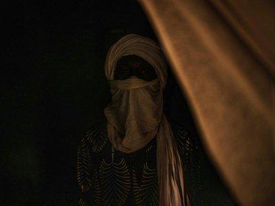 Ibrahim, jihadiste repenti, reclus dans la clandestinité à Mopti, dans le centre du Mali. Le 7 juillet 2019    Marco LONGARI [AFP]