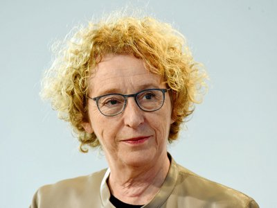 Muriel Pénicaud le 15 octobre 2019 à Paris - ERIC PIERMONT [AFP/Archives]