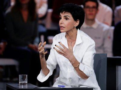 """Rachida Dati lors de """"L'émission politique"""" sur France 2, à Saint-Cloud, 24 janvier 2019    Geoffroy VAN DER HASSELT [AFP/Archives]"""