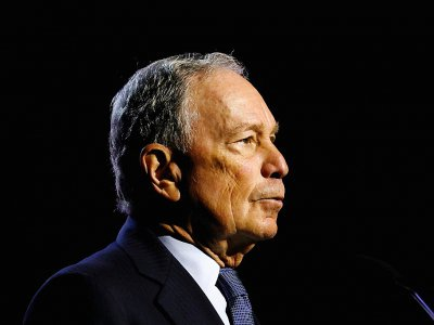 L'ancien maire de New York Michael Bloomberg le 24 juillet 2019 à Détroit dans le Michigan, aux Etats-Unis - JEFF KOWALSKY [AFP]