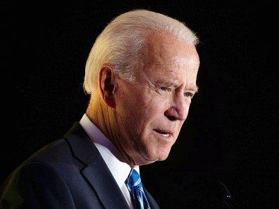 Le candidat démocrate à la Maison Blanche Joe Biden, le 17 octobre 2019 à Washington - Eric BARADAT [AFP/Archives]