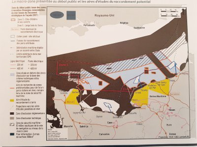 Les zones envisagées.    Gilles Anthoine