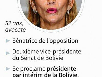 Jeanine Añez    Nicolas RAMALLO [AFP]