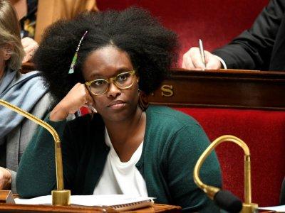 La porte-parole du gouvernement Sibeth Ndiaye, le 12 novembre 2019 à Paris    Bertrand GUAY [AFP]