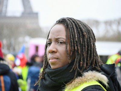 Priscillia Ludosky en janvier 2019 à Paris    Eric FEFERBERG [AFP/Archives]