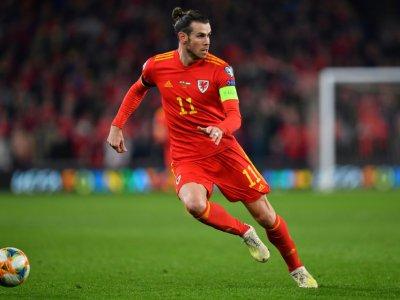 Gareth Bale qualifié avec les Pays-Bas à l'issue de la victoire sur la Hongrie, le 19 novembre 2019 à Cardiff    Paul ELLIS [AFP]
