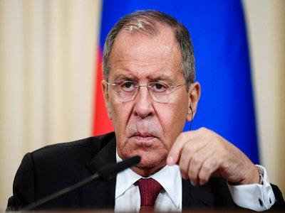 Le ministre russe des Affaires étrangères Sergueï Lavrov le 2 septembre 2019 à Moscou    Kirill KUDRYAVTSEV [AFP/Archives]