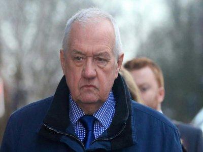L'ex-commissaire David Duckenfield, à son arrivée au tribunal de Preston, le 14 janvier 2019    Lindsey PARNABY [AFP/Archives]