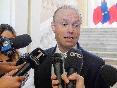 Le Premier ministre maltais Joseph Muscat, le 26 novembre 2019 à La Valette - Matthew Mirabelli [AFP]