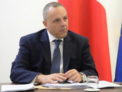 Keith Schembri, chef de cabinet du Premier ministre maltais Joseph Muscat, le 9 octobre 2018 à La Valette    Matthew Mirabelli [AFP/Archives]