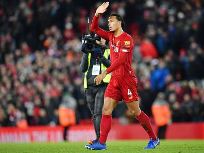 Le défenseur néerlandais de Liverpool Virgil van Dijk après la rencontre contre Brighton le 1er décembre 2019 - Paul ELLIS [AFP]