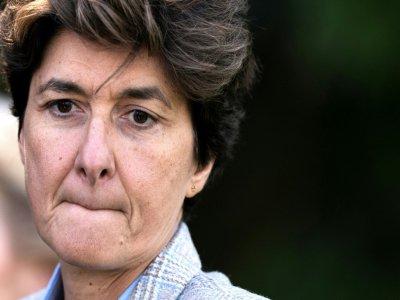 L'ex-eurodéputée MoDem Sylvie Goulard le 12 septembre 2019 à Genval (Belgique) - Kenzo TRIBOUILLARD [AFP/Archives]