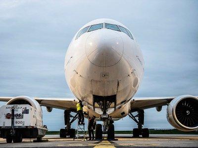 Un boeing 777 d'Air France sur le tarmac de Roissy Charles de Gaulle le 29 octobre 2019    Martin BUREAU [AFP/Archives]