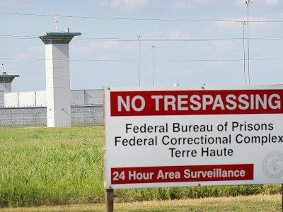 La prison fédérale de Terre Haute, dans l'Indiana, photographiée le 25 juillet 2019    SCOTT OLSON [GETTY IMAGES NORTH AMERICA/AFP/Archives]