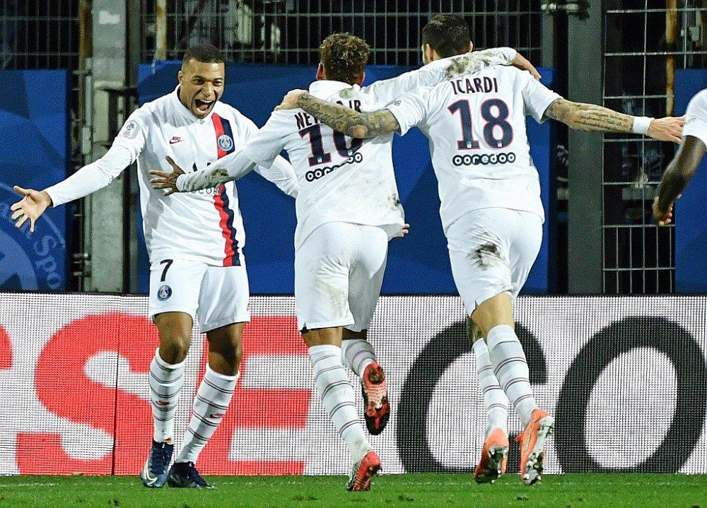 L1 Le Psg Renverse Montpellier Avec 3 Buts En 7 Minutes