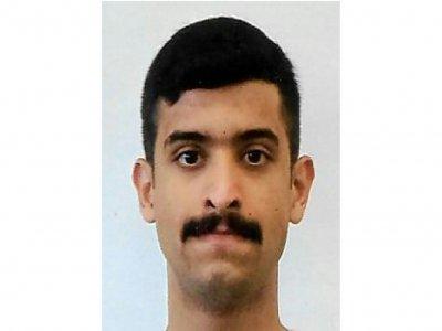 Photo du Saoudien Mohammed Alshamrani, distribuée par le FBI le 7 décembre 2019    Handout [FBI/AFP]