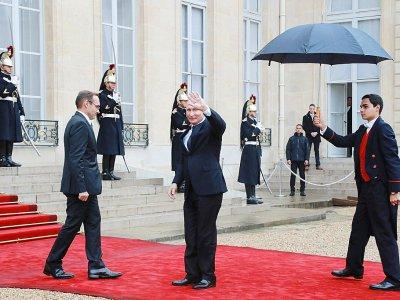 Le président russe à son arrivée à l'Elysée, le 11 novembre 2018 à Paris    Jacques Demarthon [AFP/Archives]