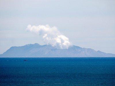 Le volcan de White Island  (Nouvelle-Zélande) après l'éruption, le 11 décembre 2019    Marty MELVILLE [AFP]