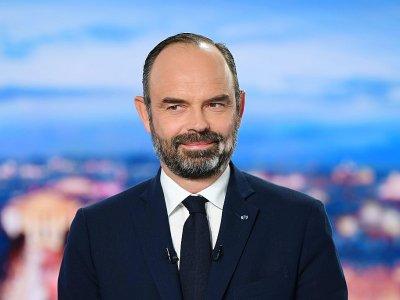 Le Premier ministre Edouard Philippe, sur TF1 à Boulogne-Billancourt, le 11 décembre 2019 - ERIC FEFERBERG [AFP]
