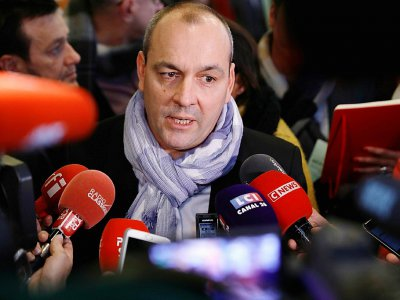 Le secrétaire général de la CFDT Laurent Berger, à Paris le 11 décembre 2019 - Thomas SAMSON [AFP]
