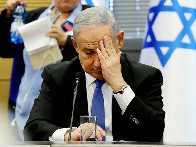 Le Premier ministre israélien Benjamin Netanyahu lors d'une séance à la Knesset, le 20 novembre 2019 à Jérusalem    GALI TIBBON [AFP]