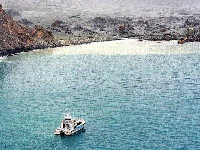 Des plongeurs recherchent samedi 14 décembre des corps de victimes de l'éruption d'un volcan sur White Island, une île néo-zélandaise - Handout [NEW ZEALAND DEFENCE FORCE/AFP]