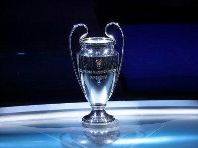 Le trophée de la Ligue des champions exposé lors de la cérémonie du tirage au sort des groupes à Monaco, le 29 août 2019    Valery HACHE [AFP/Archives]