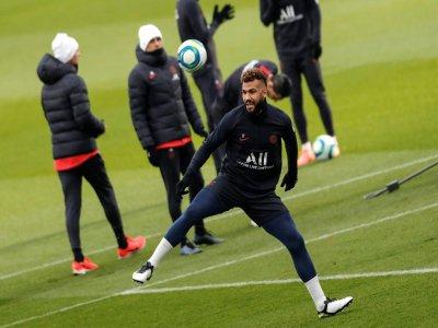 L'attaquant du PSG Eric Maxim Choupo-Moting, lors d'un entraînement le 6 décembre 2019 à Saint-Germain-en-Laye    Thomas SAMSON [AFP/Archives]