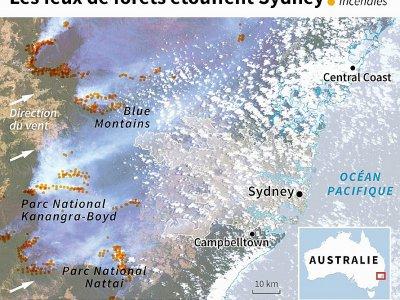 Les feux de forêts étouffent Sydney    Patricio ARANA [AFP]