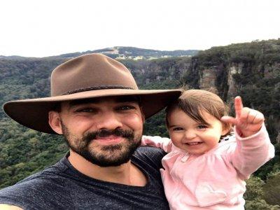 Photo du pompier Andrew O'Dwyer, 36 ans, décédé alors qu'il luttait contre un incendie au sud de Sydney, le 19 décembre 2019    Handout [New South Wales Rural Fire Service/AFP]