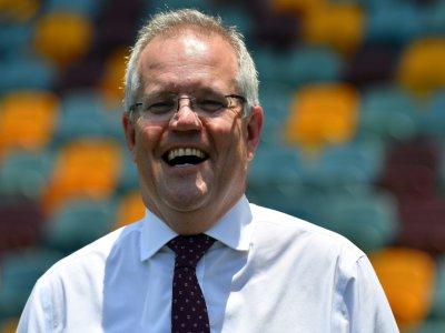 Le Premier ministre australien Scott Morrison  à Brisbane en Australie, le 20 novembre 2019    Saeed KHAN [AFP/Archives]