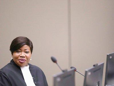 La procureure de la CPI Fatou Bensouda, le 8 juillet 2018 à La Haye    EVA PLEVIER [ANP/AFP]