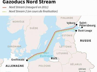 Gazoducs Nord Stream    AFP [AFP]