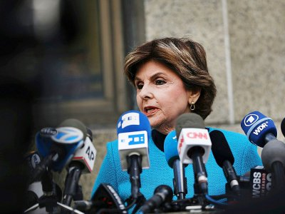 L'avocate Gloria Allred, le 26 août 2019 à New York
