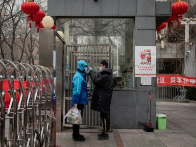 The city is normally quiet around the Lunar New Year holiday but news of the rapidly spreading infection has left malls and boulevards exceptionally silent
