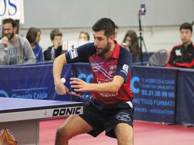 Le Caen TTC a perdu son premier match sans prendre de points ce week-end.    Aurélien Renault