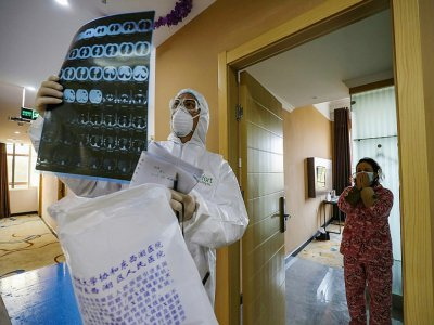 Nearly 64,000 people are now recorded as having been made ill by the coronavirus in China, with the last two days showing a steep rise after a change in diagnostic methods