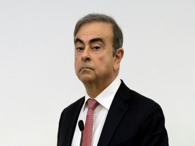 Carlos Ghosn à Beyrouth le 8 janvier 2020