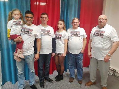 Soutenu par La France insoumise et le Parti de gauche, Rachid Chebli, à gauche sur la photo, se présente aux élections municipales de Bolbec. Premier tour le dimanche 15 mars.    Joris Marin