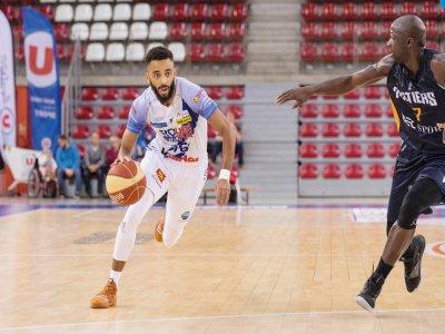 Le Rouen Métropole Basket affronte Poitiers samedi 14 mars.    Romain Flohic