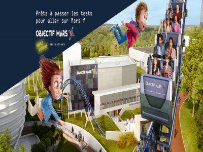 Découvrez Objectif Mars, la nouvelle attraction du Futuroscope de Poitiers, grâce au Hit de la Salle de Bains, sur Tendance Ouest. - Futuroscope