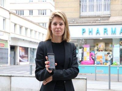 Mariana Caillaud a mis de côté sa vie professionnelle pour développer Dolipharm, une plateforme de livraison de médicaments à domicile.