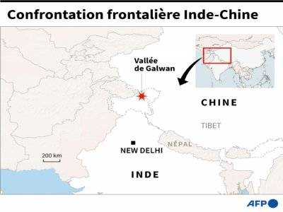 Confrontation frontalière Inde-Chine